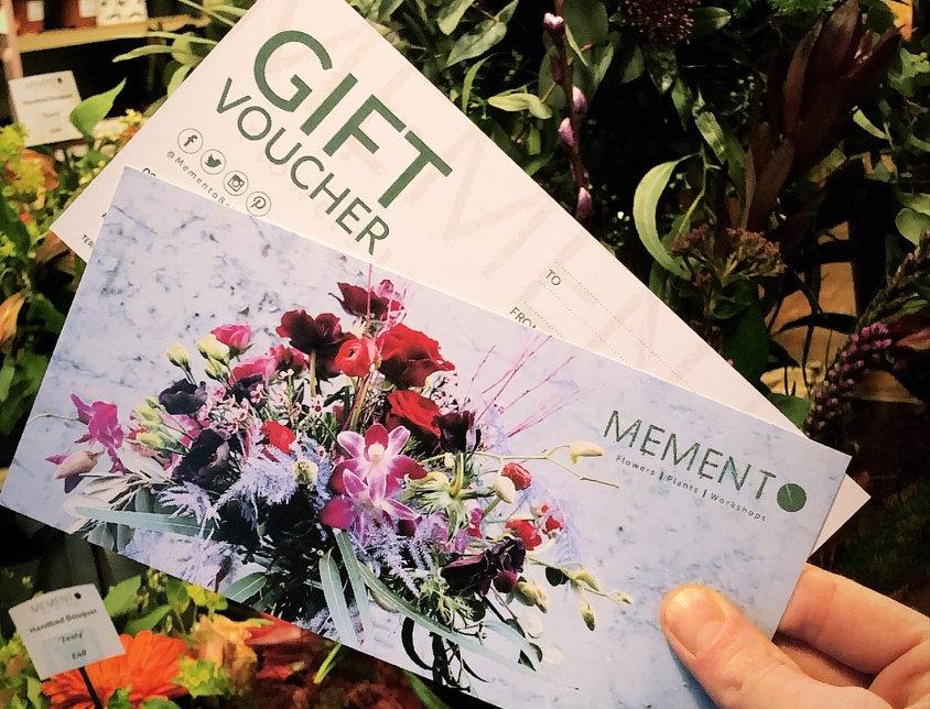 Memento Gift Voucher