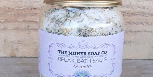 Relax Bath Salts - Lavender