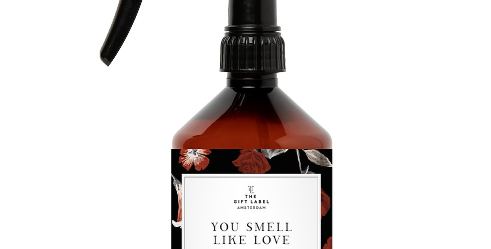 The Gift Label Room Spray -You Smell Like Love