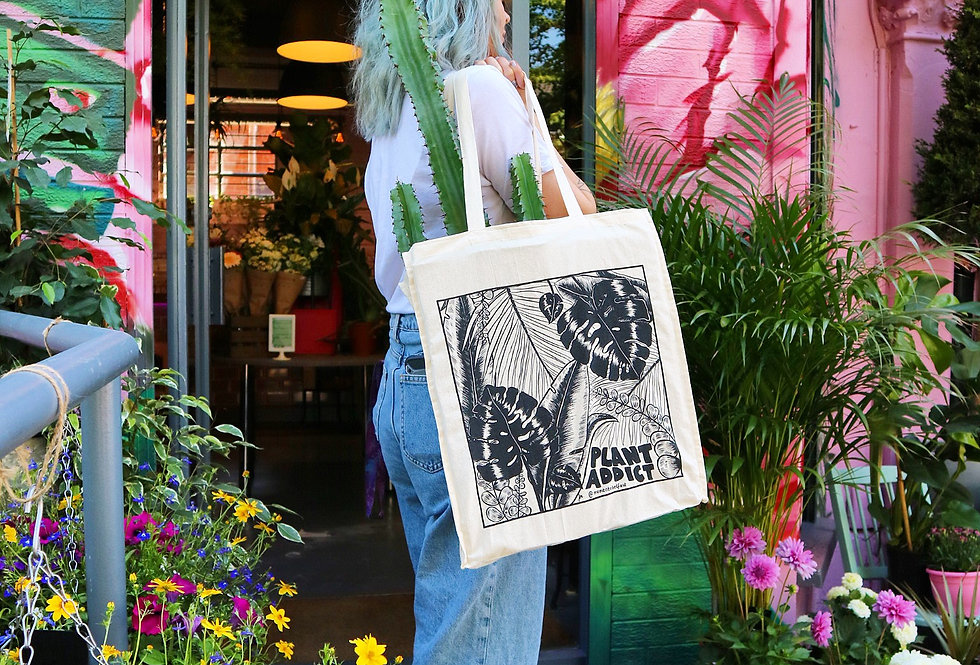 Plant Addict Tote Bag