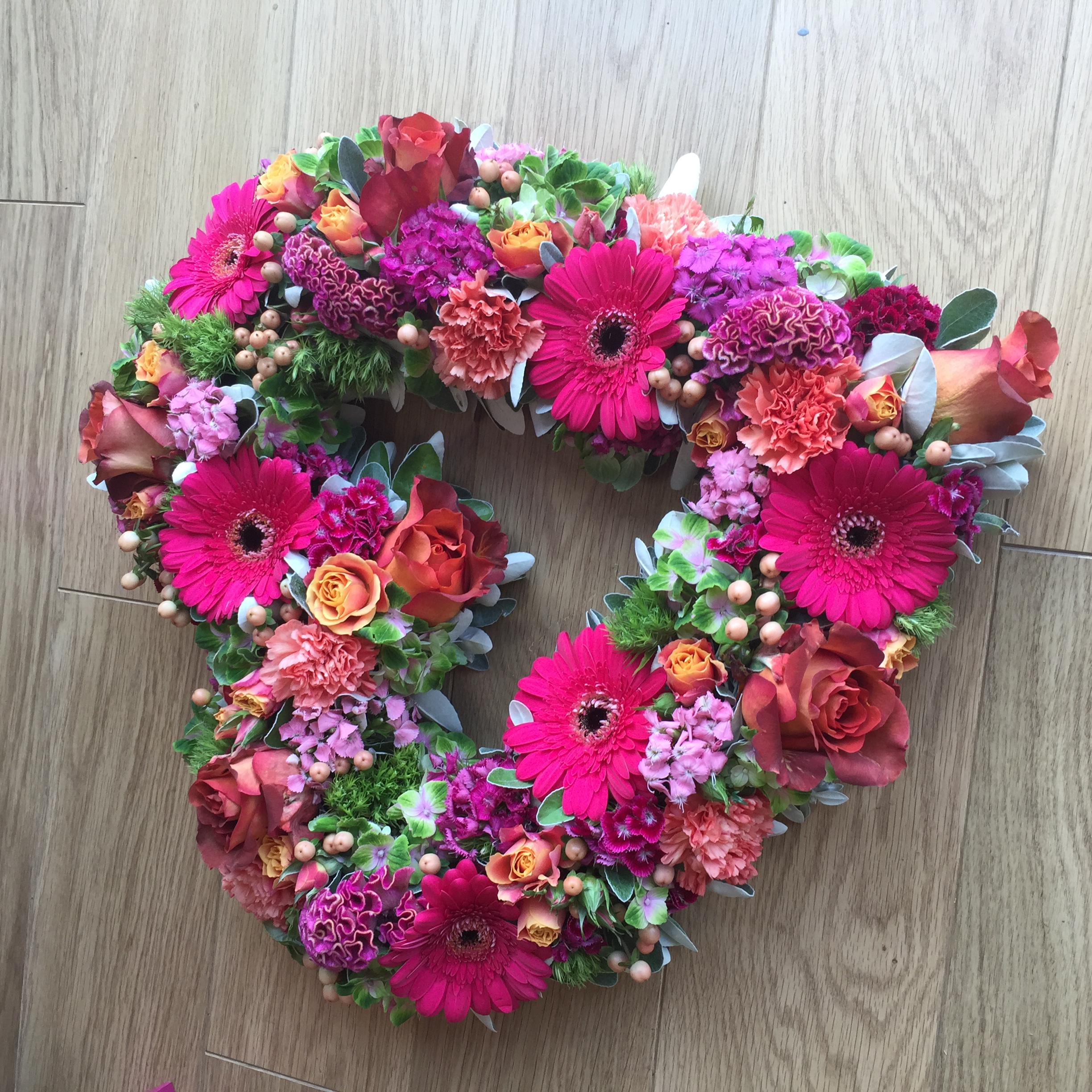 Heart Wreath Belfast Florist
