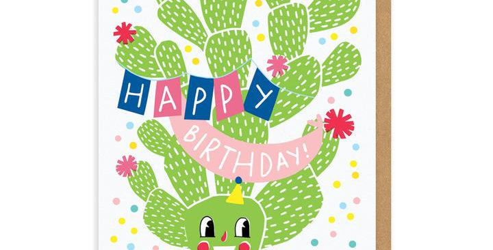 Birthday From A Distance Greeting Card