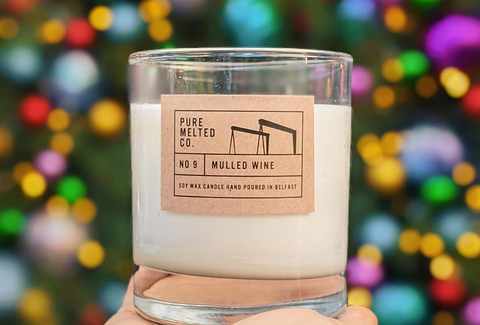 Mulled Wine Soy Wax Candle