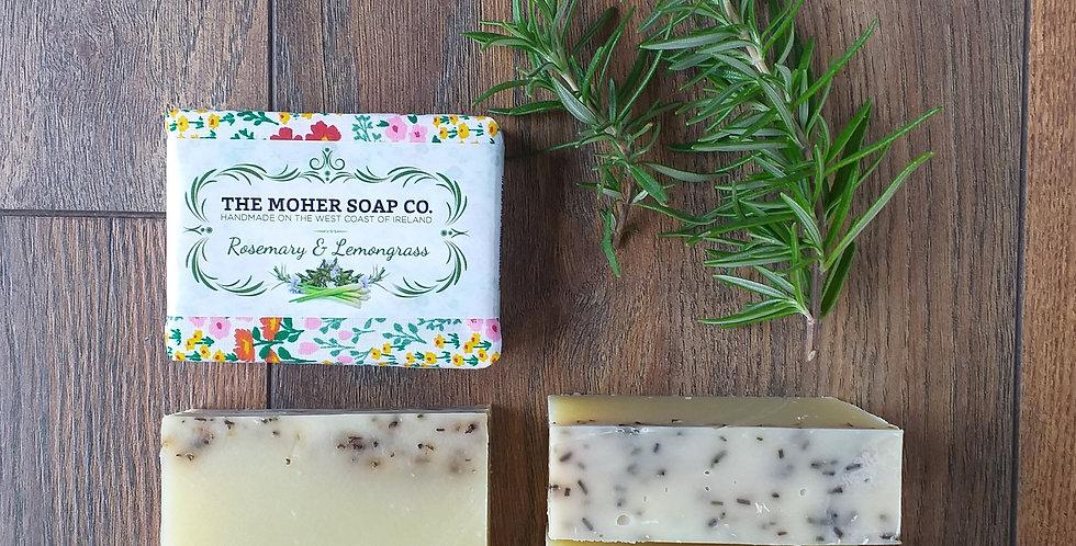 Rosemary & Lemongrass Natural Soap