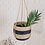 Thumbnail: Black Stripe Seagrass Hanging Planter