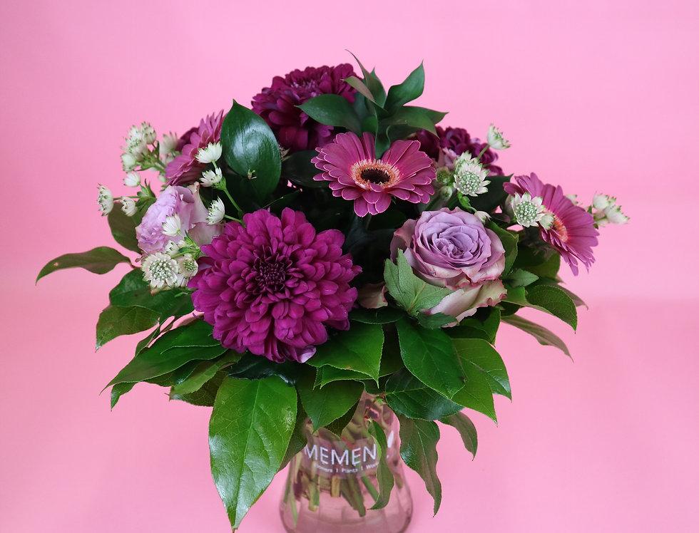 Glass Vase Bouquet