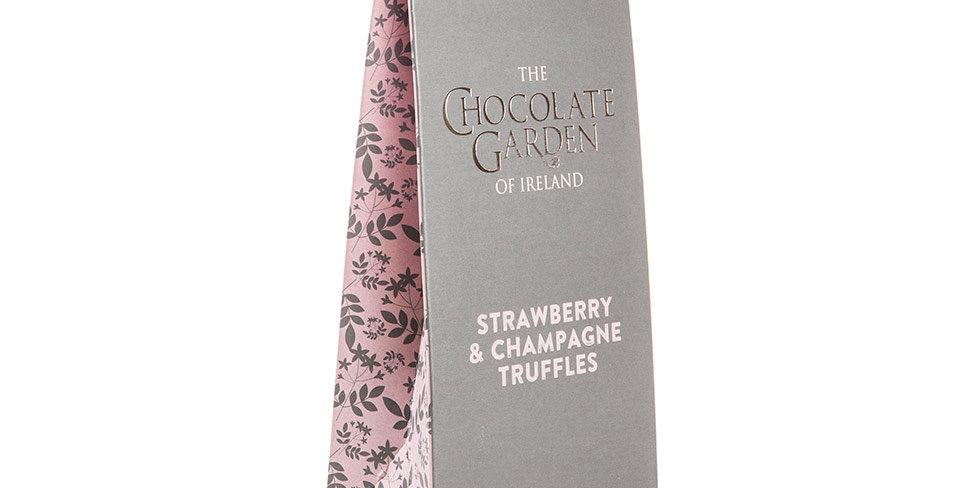 Strawberry & Champagne Truffles