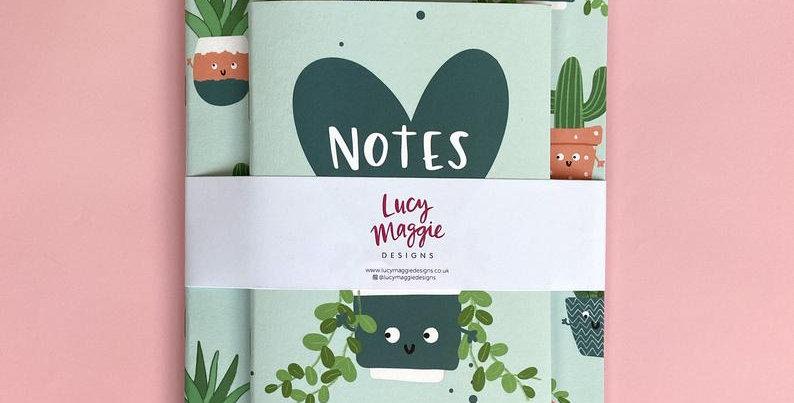 Plant Notebook Set