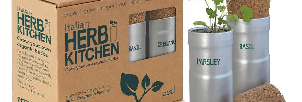 Italian Herb Kitchen Grow Kit