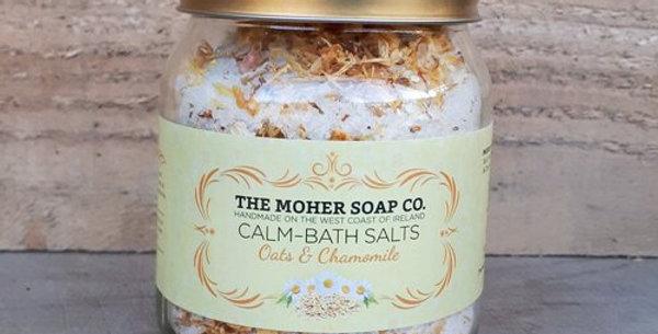 Calm Bath Salts - Oats & Chamomile