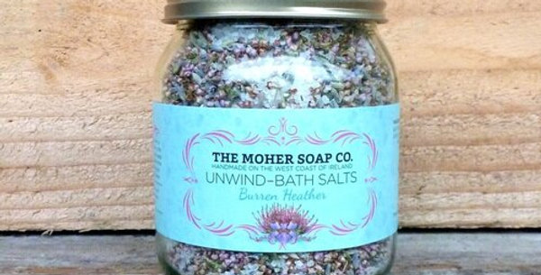 Unwind Bath Salts - Burren Heather