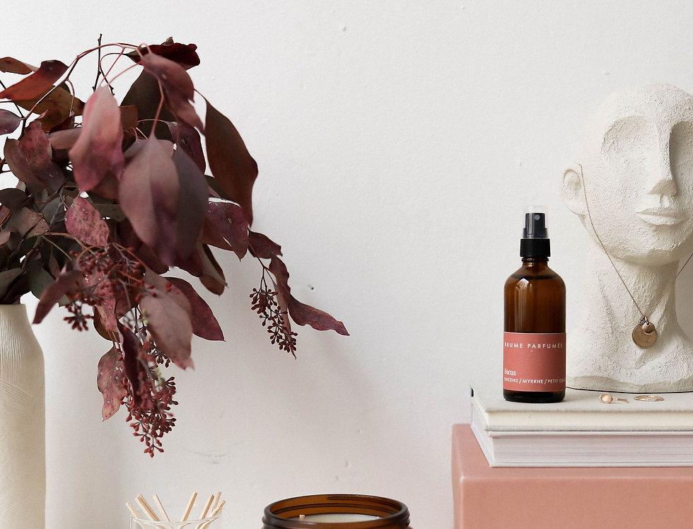 Focus - Incense, Myrrh & Bigarade Candle