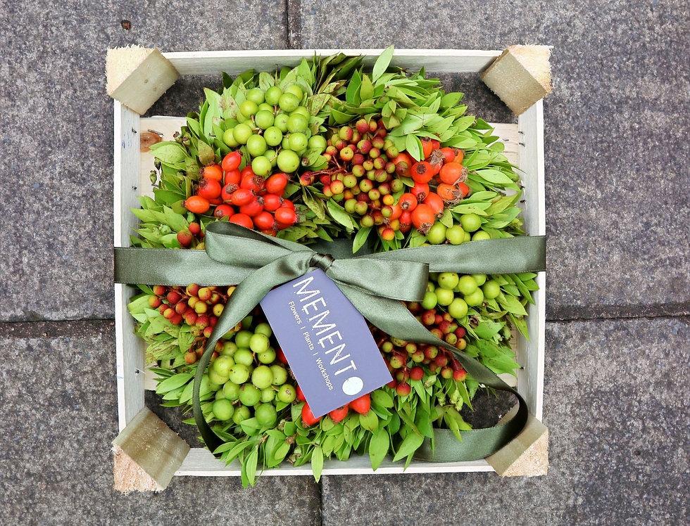 Autumn Turkish Fruit Wreath