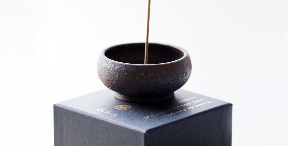 Stoneware Mud Clay Incense Bowl