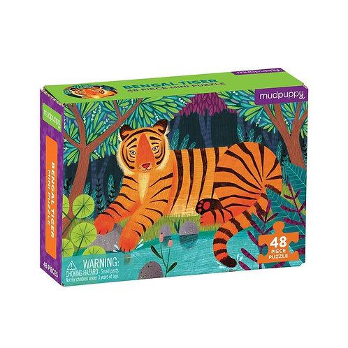 Bengal Tiger Mini Puzzle