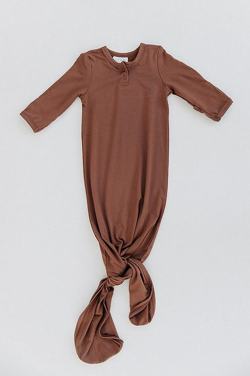 Rust Knot Gown