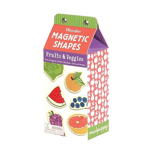 Fruits & Veggies Wooden Magnetic Set