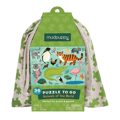 Animals Of The World Puzzle To Go