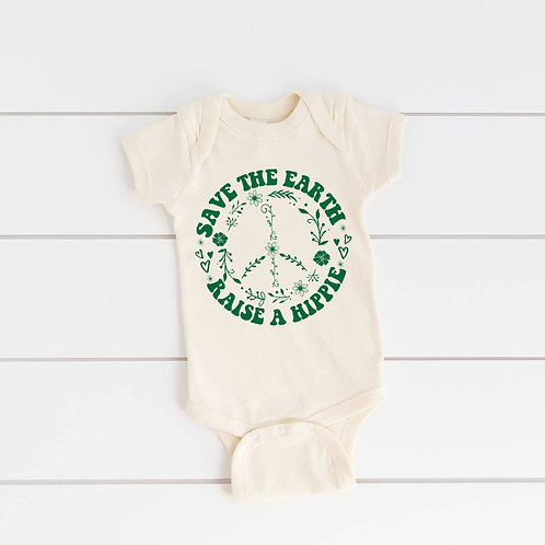 Save The Earth, Raise A Hippie Onesie