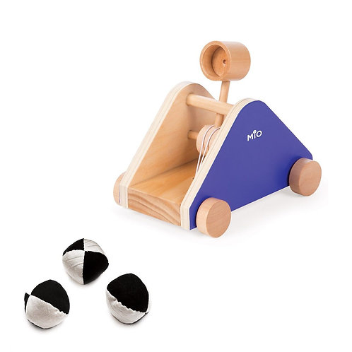 Mio Catapult Wood Play Set