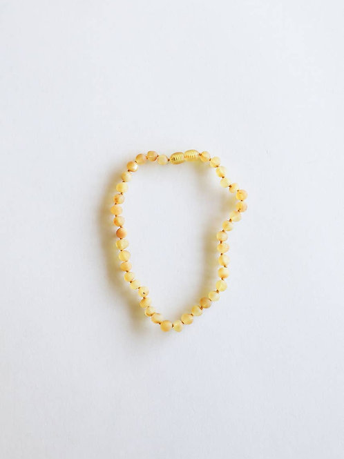 Raw Honey Amber Necklace