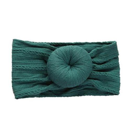 Cable Knit Bun Headband