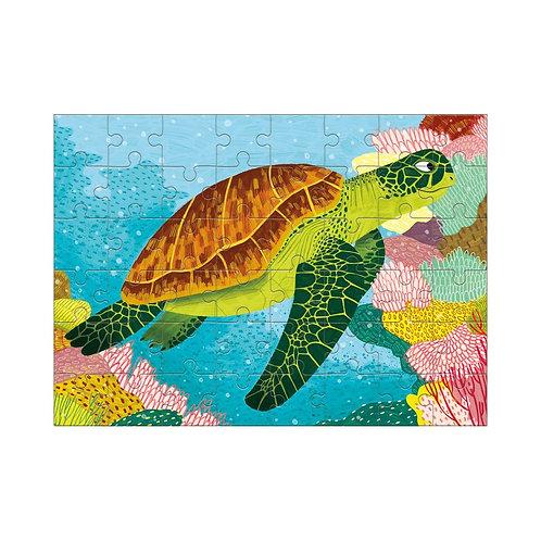 Green Sea Turtle Mini Puzzle