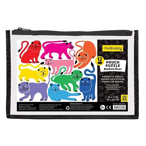 Rainbow Roar Pouch Puzzle