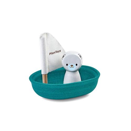 Polar Bear Sailing Boat