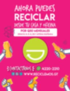 recicla desde casa y oficina