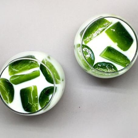 #liquidenergy Matcha Ice Cubes