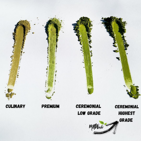 Learn And Love The Different Grades Of Matcha