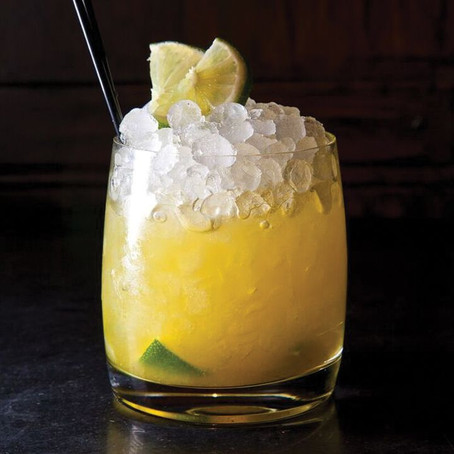 Turmeric Gin and Ginger Cocktail