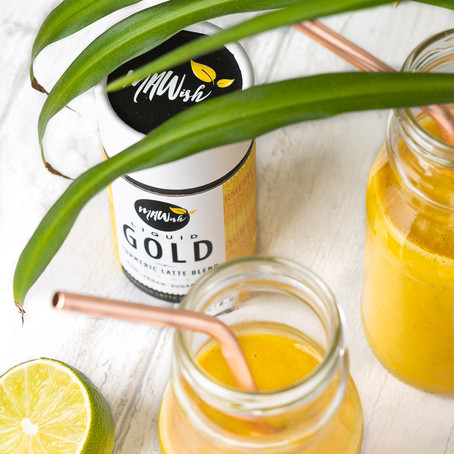 Anti-inflammatory Turmeric Mango Smoothie