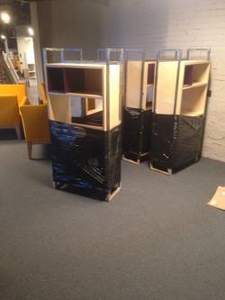 Шкафы из фанеры для офиса