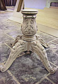 Резная ножка для стола