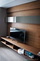 Стеновая панель из дерева для спальни