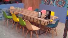 Интерьер для реалити-шоу - сделали несколько объектов мебели
