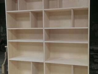 Изготовление шкафа из экологичной фанеры