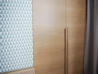Гардеробный стенной шкаф