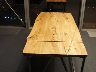 Столы для офиса из массива карагача