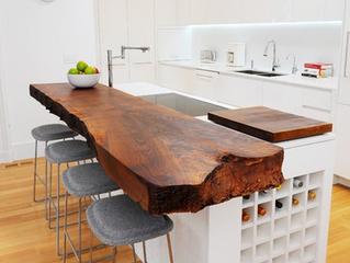 Столешницы из массива для кухни и ванной комнаты