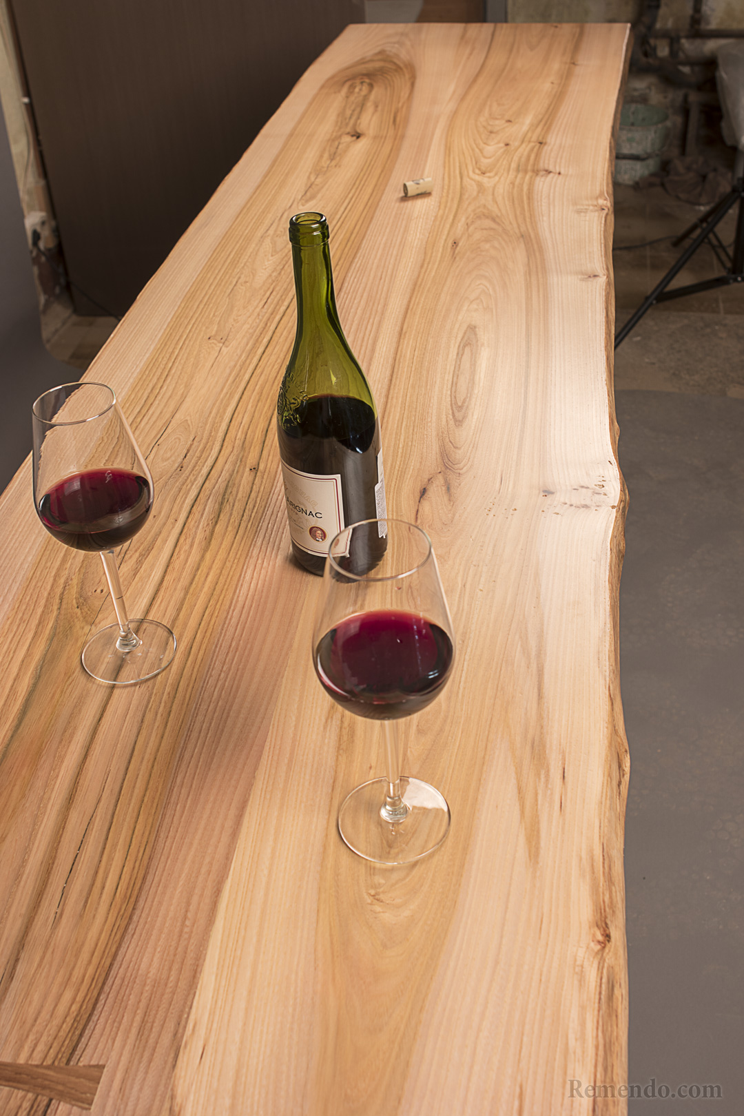 Столешница из дерева для кухни