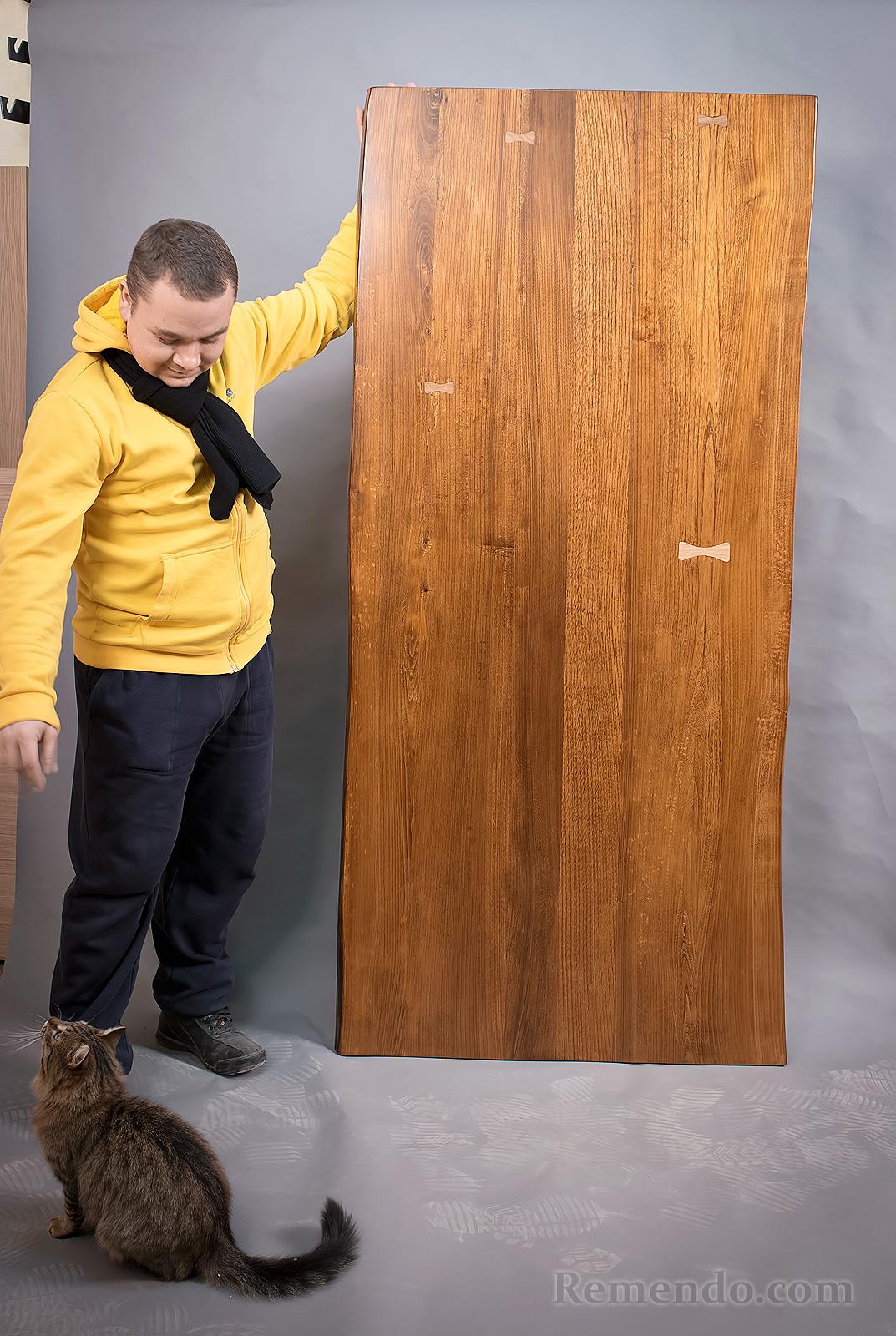 Стол барный из массива дерева