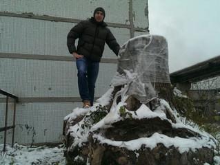 Пень для массивных деревянных слэбов