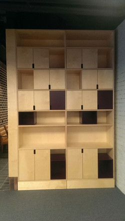 Шкаф из фанеры для офиса