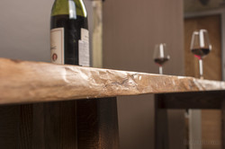 Столешница в кухню деревянная