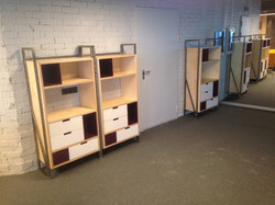 Офисные шкафчики в стиле лофт