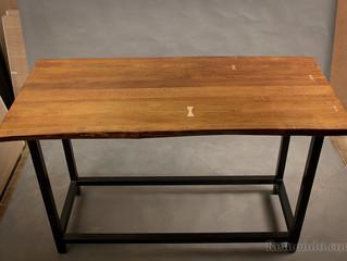 Стол из массива дерева в стиле Лофт для стейк-ресторана