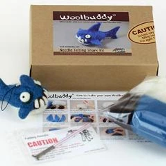 WBK-013_Woolbuddy サメ キット (Advanced)上級者向け